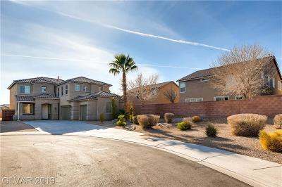 North Las Vegas Single Family Home For Sale: 2325 Scissortail Court
