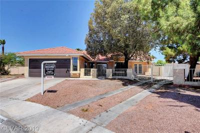 Las Vegas Single Family Home For Sale: 6428 Dearborn Court