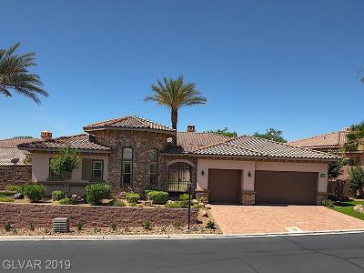 Henderson NV Single Family Home For Sale: $925,000