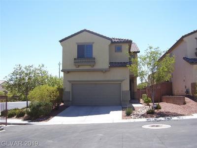 North Las Vegas Single Family Home For Sale: 2929 Salado Creek Avenue