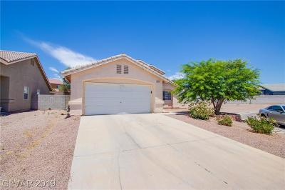 North Las Vegas Single Family Home For Sale: 3812 Alder Creek Court