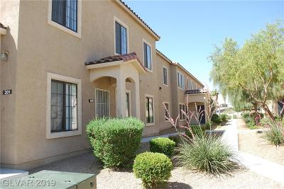 Las Vegas Condo/Townhouse For Sale: 2181 Hussium Hills Street #102