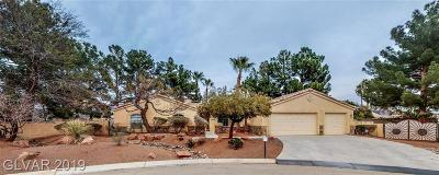 Centennial Hills Single Family Home Under Contract - No Show: 5940 Maverick Street