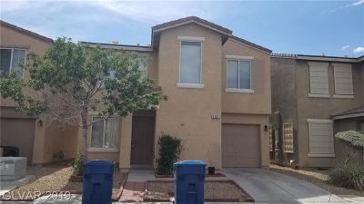 Clark County Single Family Home For Sale: 2161 Tierra Del Verde Street