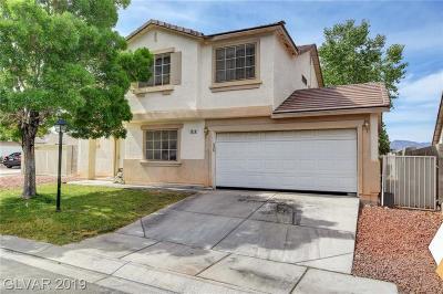 North Las Vegas Single Family Home For Sale: 1014 Harp Way