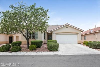 North Las Vegas Single Family Home For Sale: 4713 Cedar Ranch Court