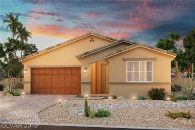 Las Vegas Single Family Home For Sale: 7090 Shady Palms Street #lot 49