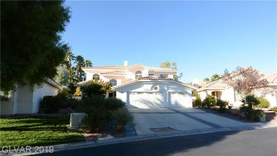 Centennial Hills Single Family Home For Sale: 7896 Aspect Way