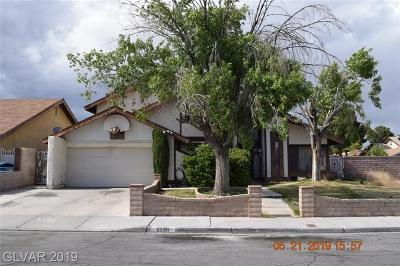 Spring Valley Single Family Home For Sale: 6536 Treadway Lane