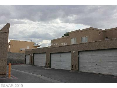 Las Vegas Condo/Townhouse For Sale: 6750 Del Rey Avenue #161