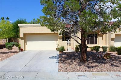 Sun City Summerlin Condo/Townhouse For Sale: 2801 Pinkerton Drive