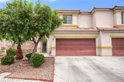 NORTH LAS VEGAS Condo/Townhouse For Sale: 628 Twilight Blue Avenue