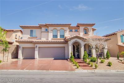 Las Vegas Single Family Home For Sale: 928 Las Palomas Drive