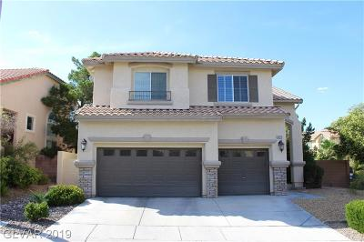 Single Family Home For Sale: 10712 Turquoise Valley Drive