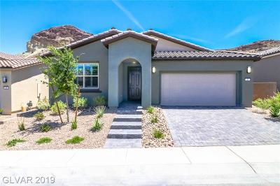 Henderson NV Single Family Home For Sale: $485,000