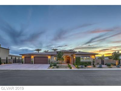 Las Vegas Single Family Home For Sale: 8255 Canyon Tree Court
