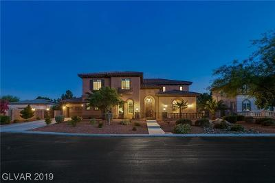 Las Vegas Single Family Home For Sale: 6805 Via Locanda Avenue