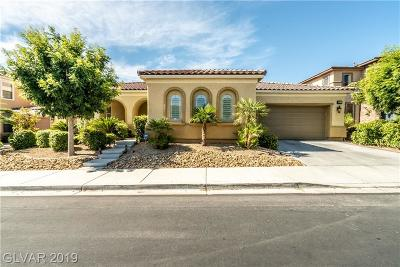 Las Vegas Single Family Home For Sale: 9311 Bronze River Avenue