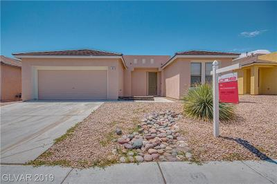North Las Vegas Single Family Home For Sale: 3005 Hot Cider Avenue