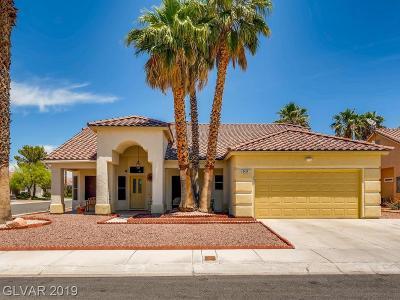 Centennial Hills Single Family Home For Sale: 5424 Rusty Anchor Court