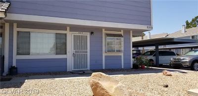 Las Vegas Condo/Townhouse For Sale: 5370 Shake Court #102