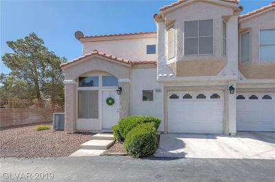 Las Vegas Condo/Townhouse For Sale: 4032 Castle Cove Drive