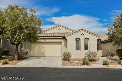 North Las Vegas Single Family Home For Sale: 5844 Bellows Beach Street