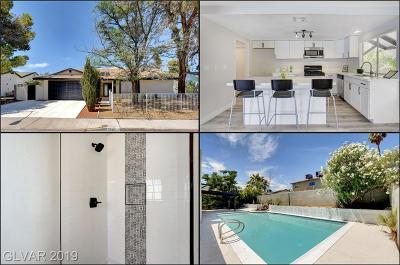 Las Vegas Single Family Home For Sale: 2592 Vegas Valley Drive