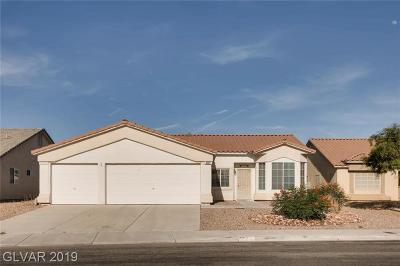 North Las Vegas Single Family Home For Sale: 5212 Coleman Street