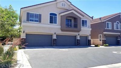 North Las Vegas Condo/Townhouse For Sale: 4513 Bell Cord Avenue #101