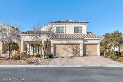 Centennial Hills Single Family Home For Sale: 8161 White Mill Court