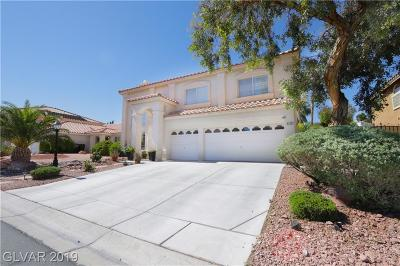 Centennial Hills Single Family Home For Sale: 8228 Mountain Heather Court