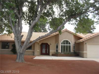 Las Vegas Single Family Home For Sale: 7930 Helena Avenue