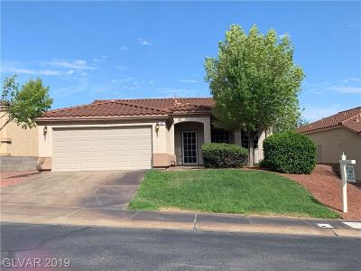Henderson Single Family Home For Sale: 127 Camino Francisco
