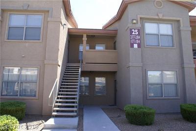 Las Vegas Condo/Townhouse For Sale: 8000 Badura Avenue #2179