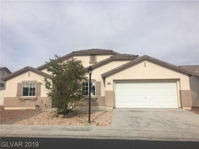 Las Vegas Single Family Home For Sale: 3318 Spinet Drive