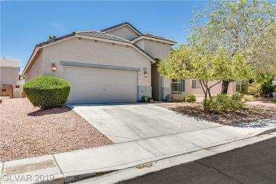North Las Vegas Single Family Home For Sale: 2927 Steppingstone Court