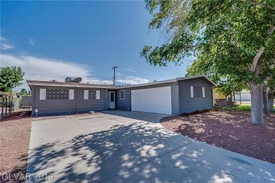 Las Vegas NV Single Family Home For Sale: $255,500