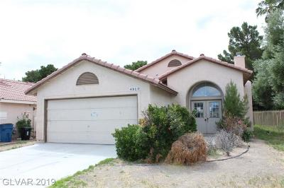 Centennial Hills Single Family Home For Sale: 4913 Signal Drive