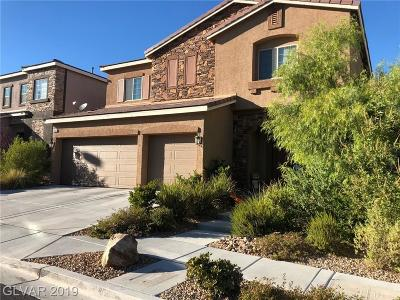 Las Vegas Single Family Home For Sale: 9060 Mastodon Avenue
