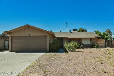 Las Vegas NV Single Family Home Under Contract - No Show: $239,900