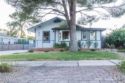 Boulder City Single Family Home For Sale: 612 California Avenue