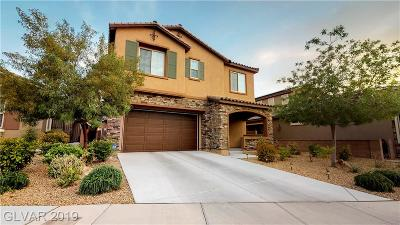 Henderson Single Family Home For Sale: 2839 Grand Helios Way