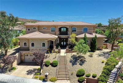 Henderson Single Family Home For Sale: 9 Paradise Valley Court