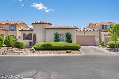 North Las Vegas Single Family Home For Sale: 6544 Gressorial Lane