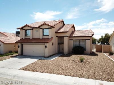 North Las Vegas Single Family Home For Sale: 3805 Fortress Drive