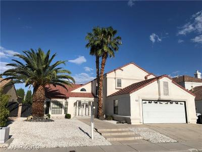 Las Vegas Single Family Home For Sale: 2916 Shannon River Drive