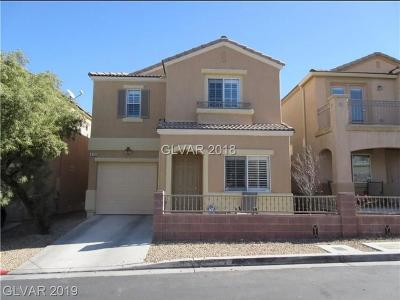 Las Vegas Single Family Home For Sale: 3716 Vanishing Point Street