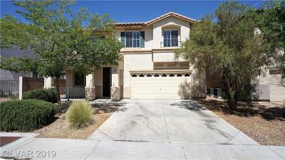 Las Vegas Single Family Home For Sale: 3008 Jacaranda Drive