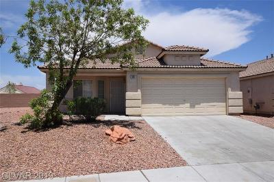 North Las Vegas Single Family Home For Sale: 506 Oak Island Drive
